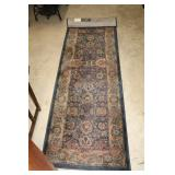 #2580B Lot of two Floral Runners