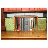 """#2582 Lot of old books inc """"Manual Mythology"""", """"World Facts and Phrases"""", and Etc."""