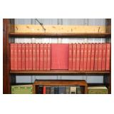 """#2581 Lot of Old books, inc """"The Auto Boys"""" series & the """"Library of Valuable Knowledge"""" series"""