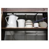 #2583 Assorted Antique kitchen wear