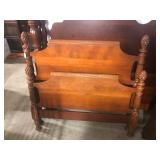 #2560 Pinecone Top Twin Bed