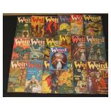 #2005 Weird Tales Pulp Lot incl. John Cawder