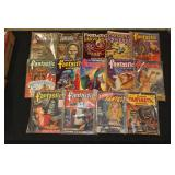 #2010 Fantastic Adventure & Mysteries Pulp lot incl. Three Lines of Old French