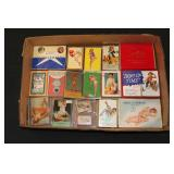 #2027 Pin-Up Girl Card Decks and other Related Lot #1