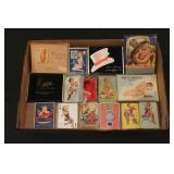 #2028 Pin-Up Girl Card Decks and other Related Lot #2