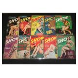 #2041 Lot of 10 Carnival Show Pulp Magazines + 3 Frolic Magazines