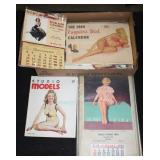 #2052 Pinup Girl and Calendar lot incl. Studio Models