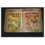#2059 Lot of 12 Comics incl. Jumbo, Jungle, etc.