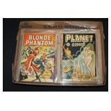 #2062 Fantastic Comic Book Lot of 11 incl. Planet, Wings