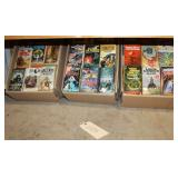 #2105 Large paperback book lot incl. Crown Of Vengeance, The Rowan, 1000 Words for a stranger, etc.