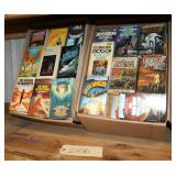 #2106 Large paperback book lot incl. Sin of Origin, The Wizard of Anheriti, etc