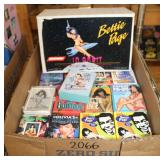 #2066 Bettie Page in Orbit, Betty Page Cards, etc.