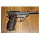 Walther P1 Kal 9mm 12/80 SER # 9048J