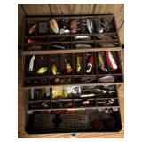 Antique Fishing Tackle Boxes