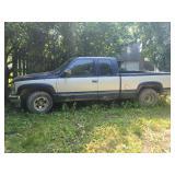 1999 Chevy 1800 Pick Up Truck Silverado