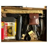 Lots of gun parts and accessories