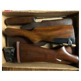 Large Selection of Rifle but stocks