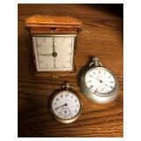 Coin Silver Pocket Watches