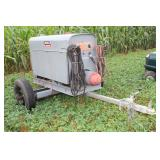 Lincoln Electric HD Welding trailer Engine # 238555