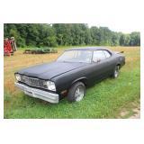 1974 Plymouth Duster w/ 23026 miles VFW Rebuilt slant 6 auto