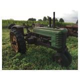 1942 John Deere Model B Tractor w/ lift