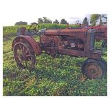 1935 Allis Chalmers Model WC Complete Tractor
