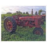1941 Farmall Model H Tractor- All Fuel, etc.