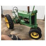 1936 John Deere Model A NF Tractor