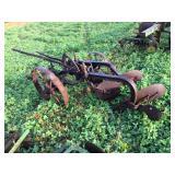 John Deere Antique steel wheel 2 bottom plow