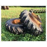 """BF Goodrich tractor tires 184-38 Duel Dish to fit 32"""""""