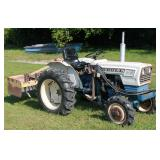 Satoh Bull S-6300 wide front Japanese tractor w