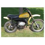 1973 GT-1 Yamaha 80CC Motorcycle