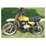Extra rear swing arm & wheel