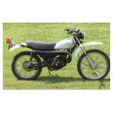 """1975 MT-125 Honda """"Elsinore"""" Motorcycle"""