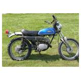 1971 CT 175 Yamaha 175CC Motorcycle