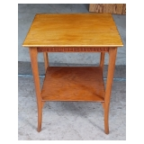 Square Oak Parlor table