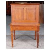 Circa 1870-1885 Eastlake Walnut Dropfront Desk