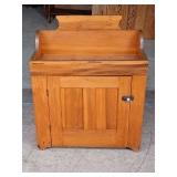 Circa 1850-70 Pine Dry Sink w/ 1 Door
