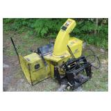 and 47 inch Snowblower - quick hitch