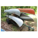 Four Place Canoe trailer