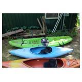 Otter, and Scrambler Ocean Kayak w/ paddles