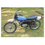 Kawasaki KE 100 Motorcycle w/ 1,756 miles