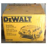 "DeWalt DW735 Heavy Duty 13"" Planer New in Box"