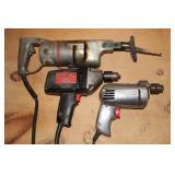 Hand tools incl. Craftsman drills