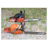 Several Chainsaws incl. Husqvarna 359