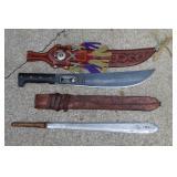 Misc. knives incl. vintage