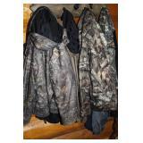 Hunting camo jackets