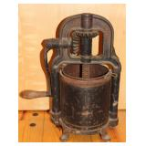 Cast iron Lard press/ Sausage stuffer