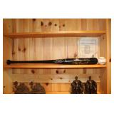 Detroit Tigers Bobby Higginson signed Baseball & bat