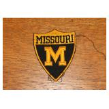 Missouri Tigers patch